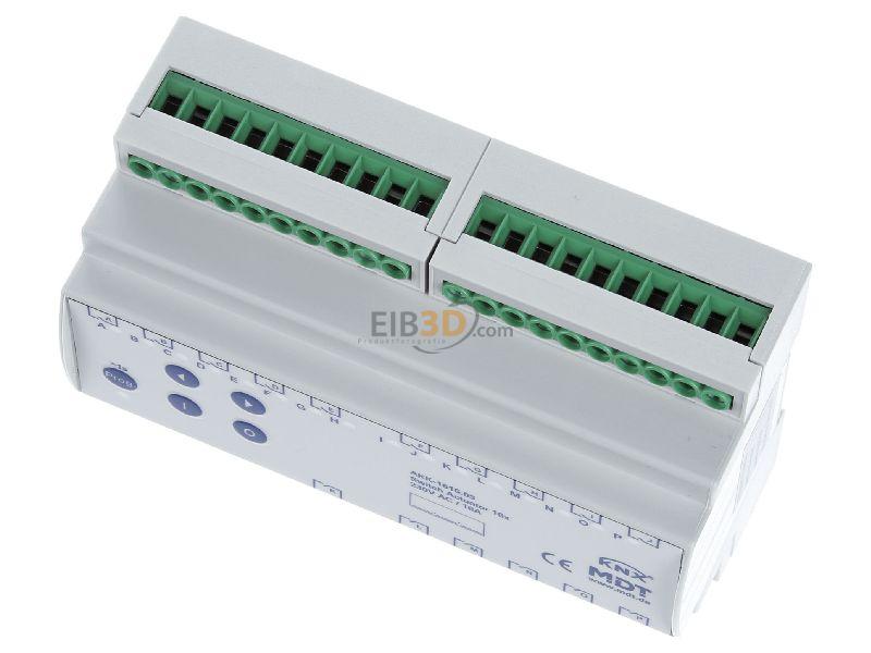KNX/EIB Schaltaktor 16-fach, 8TE, REG, 16A, 70µ, 10EVG, 230VAC, Kompakt, AKK-1616.03