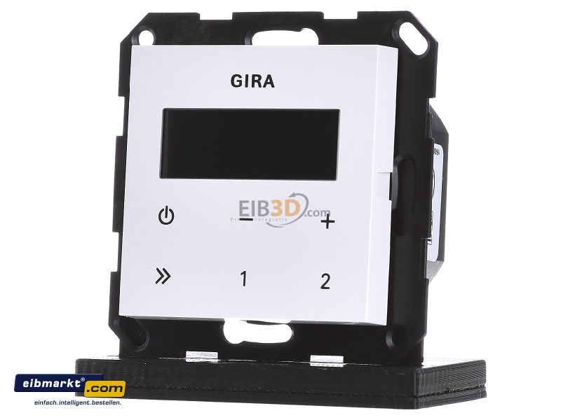 Gira Up Radio eibmarkt com flush mounted radio rds without loudspeaker