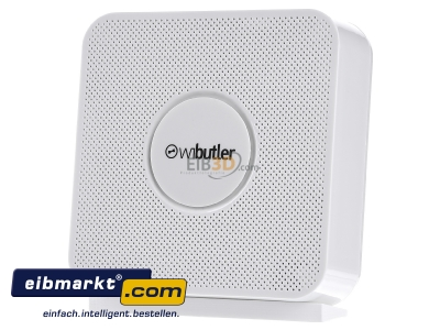 Front view iEXERGY wibutler pro Wibutler Pro Home Server for Bluetooth, Bluetooth Low Energy, Z-Wave, EnOcean und Zigbee