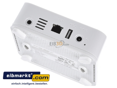 Top rear view iEXERGY wibutler pro Wibutler Pro Home Server for Bluetooth, Bluetooth Low Energy, Z-Wave, EnOcean und Zigbee