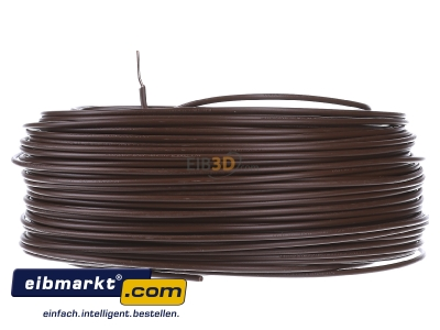 Front view Verschiedene-Diverse H07V-U   1,5     br Single core cable 1,5mm� brown - H07V-U 1,5 br