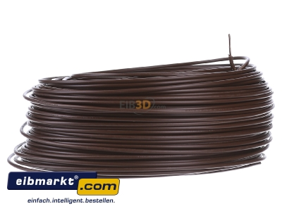 View on the left Verschiedene-Diverse H07V-U   1,5     br Single core cable 1,5mm� brown - H07V-U 1,5 br