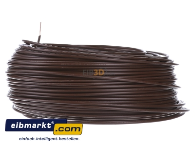 View on the right Verschiedene-Diverse H07V-U   1,5     br Single core cable 1,5mm� brown - H07V-U 1,5 br