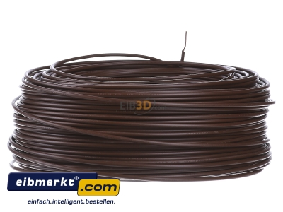 Back view Verschiedene-Diverse H07V-U   1,5     br Single core cable 1,5mm� brown - H07V-U 1,5 br
