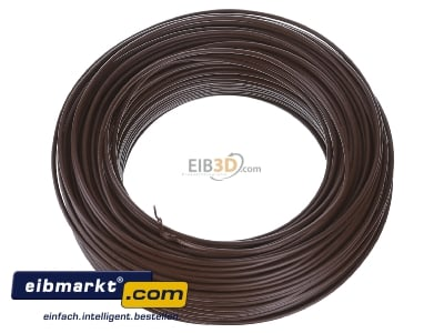 View up front Verschiedene-Diverse H07V-U   1,5     br Single core cable 1,5mm� brown - H07V-U 1,5 br