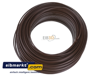 View top left Verschiedene-Diverse H07V-U   1,5     br Single core cable 1,5mm� brown - H07V-U 1,5 br