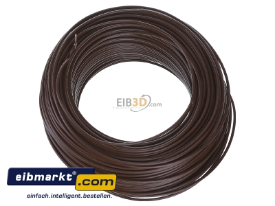View top right Verschiedene-Diverse H07V-U   1,5     br Single core cable 1,5mm� brown - H07V-U 1,5 br
