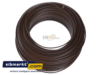 Top rear view Verschiedene-Diverse H07V-U   1,5     br Single core cable 1,5mm� brown - H07V-U 1,5 br