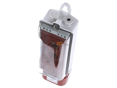 View up front Mennekes 10896 Earth Cable Junction Box,