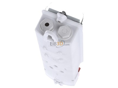Top rear view Mennekes 10896 Earth Cable Junction Box,