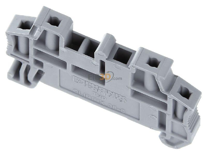 Phoenix Contact Schnellmontage-Endhalter Tragschiene NS35//7.5 CLIPFIX 35-5