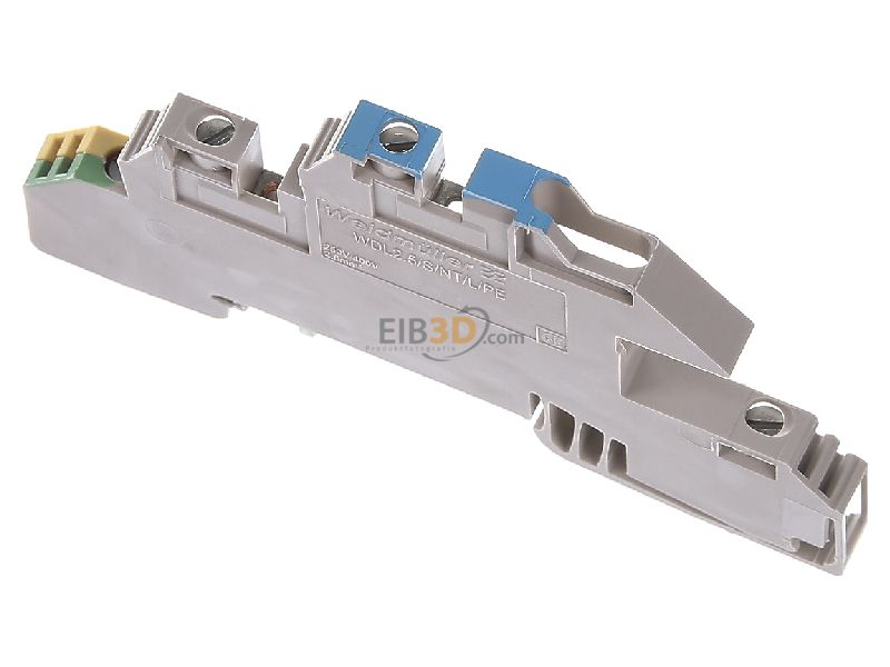 eibmarkt.com - Installation terminal block 6mm 24A 3-p WDL 2.5/S/NT/L/PE