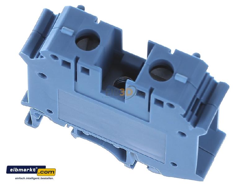 Electrical terminal block Phoenix UIK 35 Gris 15,2 mm, 55 mm, 800 V
