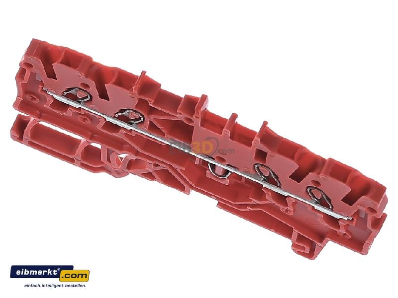 WAGO 2000-1403 4-Leiter-Durchgangsklemme für Anwendungen Ex e II geeignet