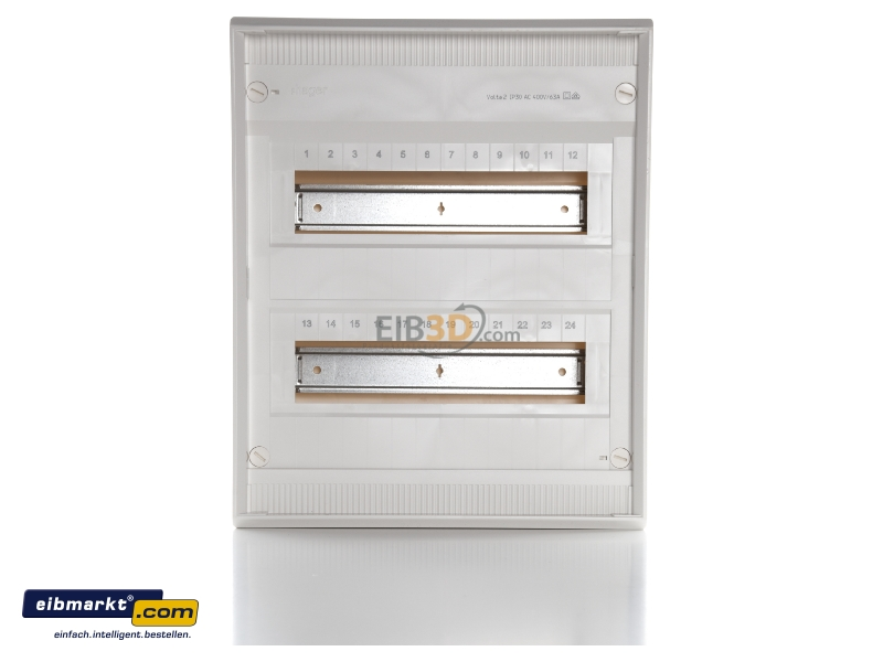 kleinverteiler ap volta ip30 2x12ple din4387 va24cn aktionspreis. Black Bedroom Furniture Sets. Home Design Ideas