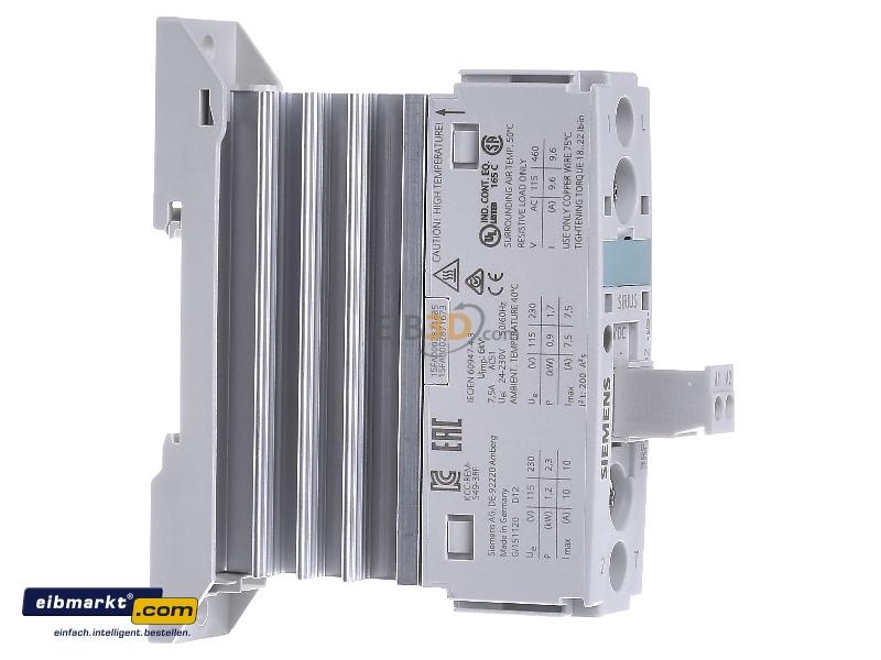eibmarkt.com - Solid state relay 10,5A 1-pole 3RF2310-1AA02