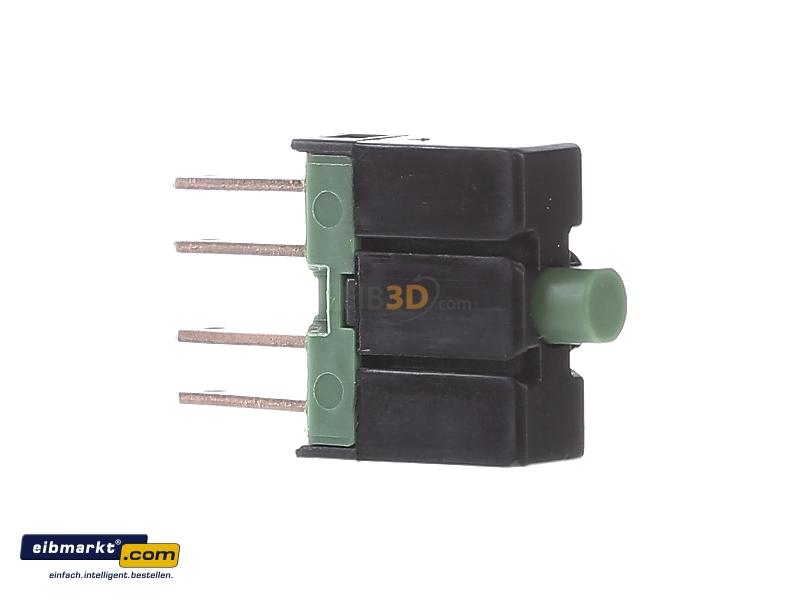 Auxiliary contact block 1 NO/0 NC E10