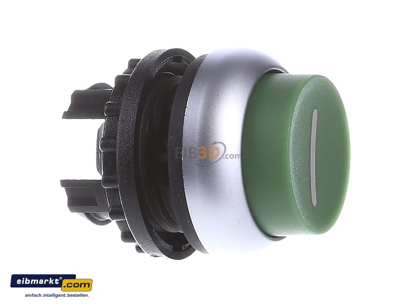 Eaton//Moeller RMQ-Titan Drucktaste hoch grün Ein M22-DH-G-X1