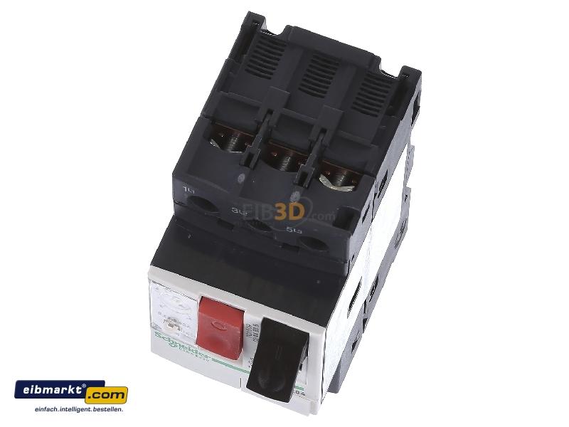 Schneider GV2ME04 Motorschutzschalter Tasterbet/ätigung 4-0 Schraubanschluss 63A 3P