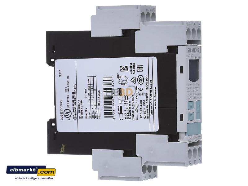 eibmarkt.com - Phase monitoring relay 160...690V 3UG4616-1CR20