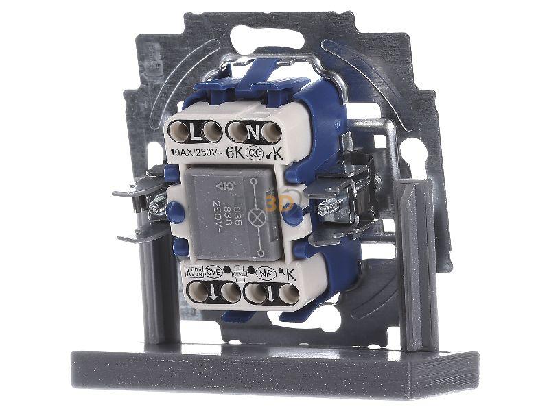 wippkontrollschalter 10a m glimmlampe 2000. Black Bedroom Furniture Sets. Home Design Ideas