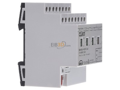 View on the left Jung 2304.16 REGCHM EIB, KNX switching actuator 4-ch,