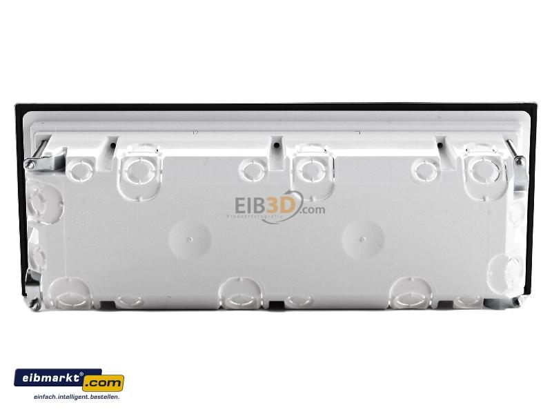 eibmarkt.com - EB-Gerätedose alu m.Rahmen 3f. 2883203