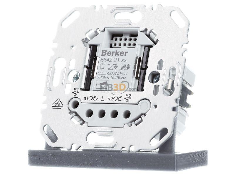 Berker Universal Tastdimmer 2fach Hauselektronik 85422100
