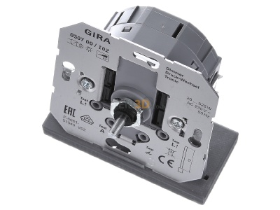 View up front Gira 030700 Dimmer flush mounted 20...520VA 30700