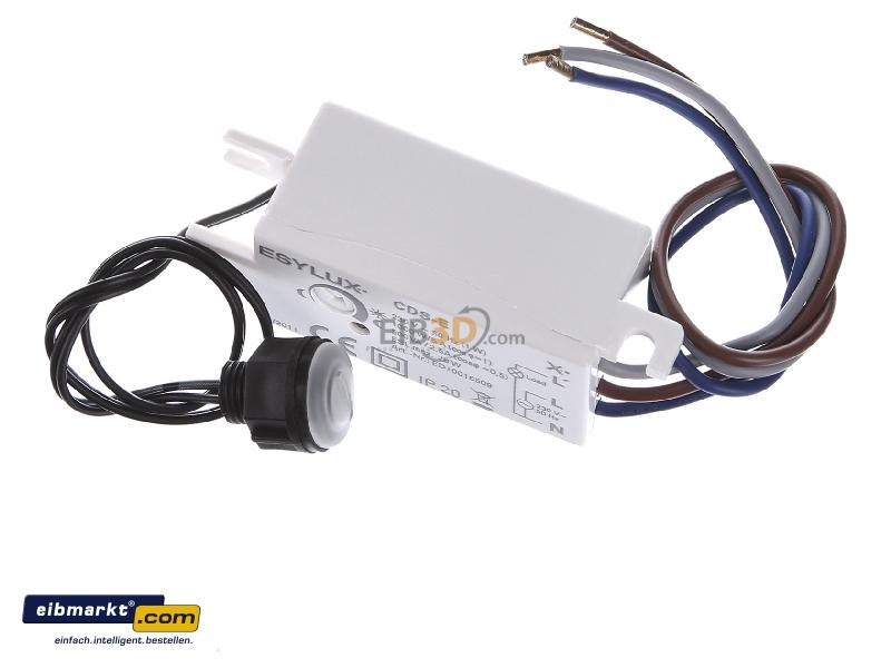 ESYLUX Dämmerungsschalter EB CDS-E IP44 weiß Dämmerungsschalter ED10016509