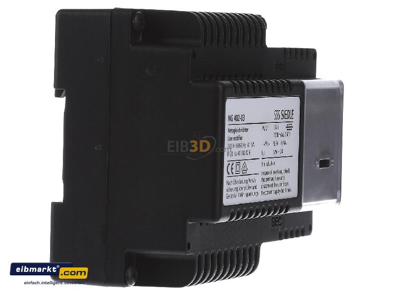 power supply for intercom 230v 8 3v ng 402 03. Black Bedroom Furniture Sets. Home Design Ideas
