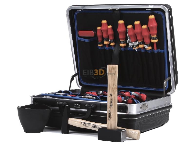 Eibmarkt Com Vde Werkzeugkoffer Schwarz 24 Teilig 00 21 05 Hl S