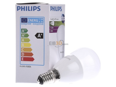 View on the left Philips Licht CoreLEDLust#78703700 LED-lamp/Multi-LED 220...240V E14 white CoreLEDLust78703700