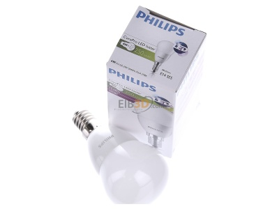 View up front Philips Licht CoreLEDLust#78703700 LED-lamp/Multi-LED 220...240V E14 white CoreLEDLust78703700