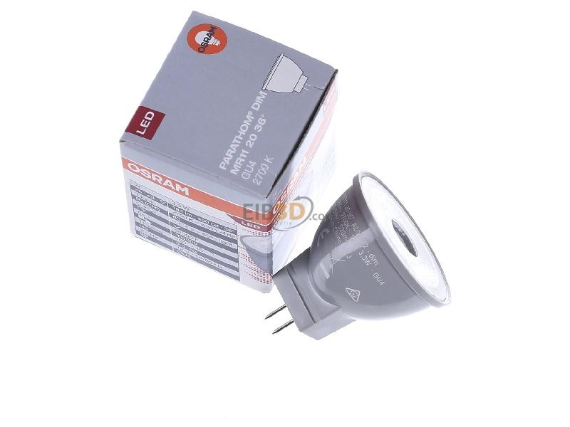 eibmarkt.com - LED-Lampe MR11 dimm GU4 2700 K LMR11D2036P3,3827GU4