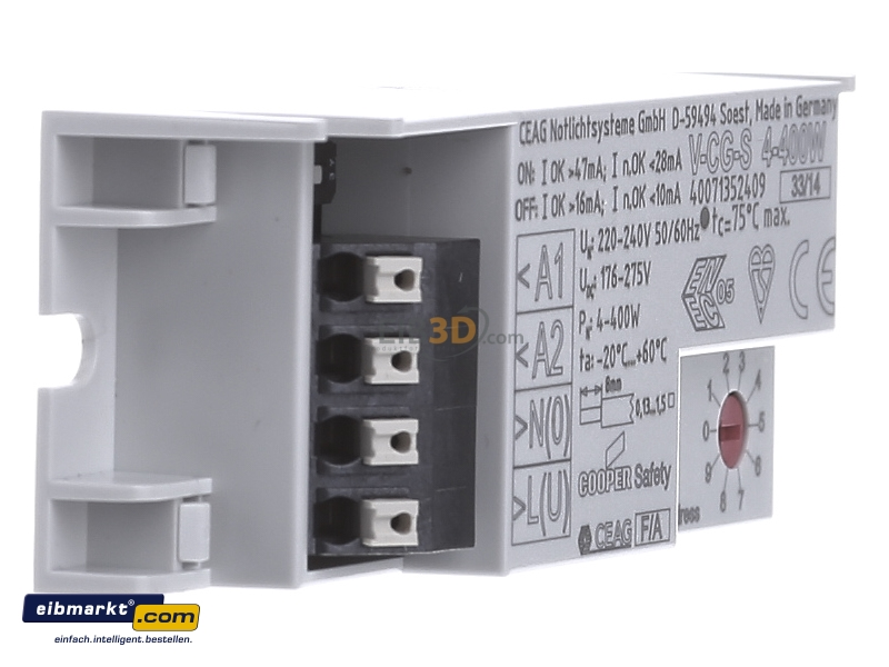 Elektronik & Messtechnik CEAG V-CG-S 4-400W Notleuchten ...