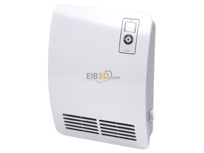 View up front EHT AEG VH Comfort Fan force heater 2000W 2-step switch
