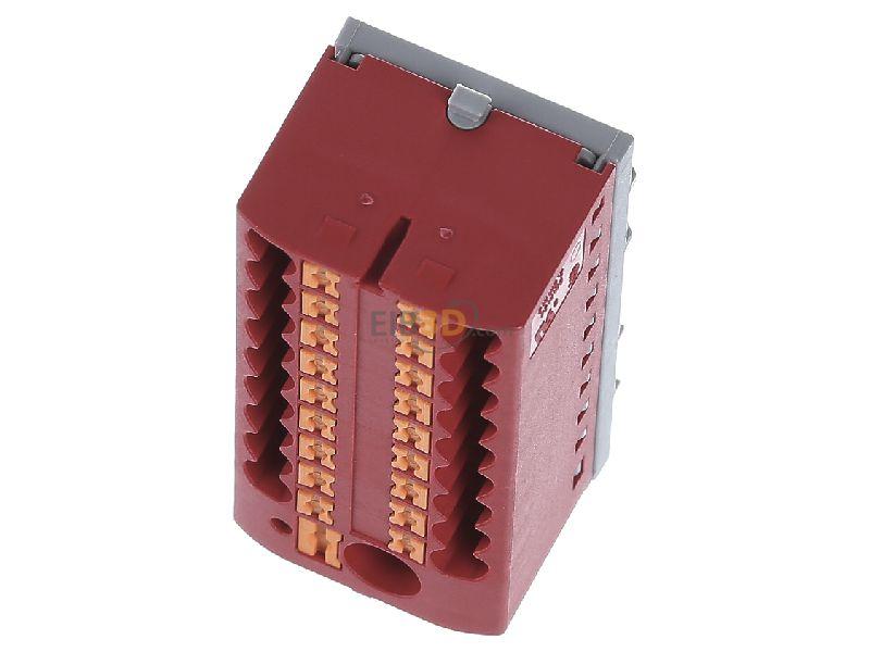 rot PTFIX6//18X2,5-NS35RD Phoenix Contact Verteilerblock 0,14-4qmm
