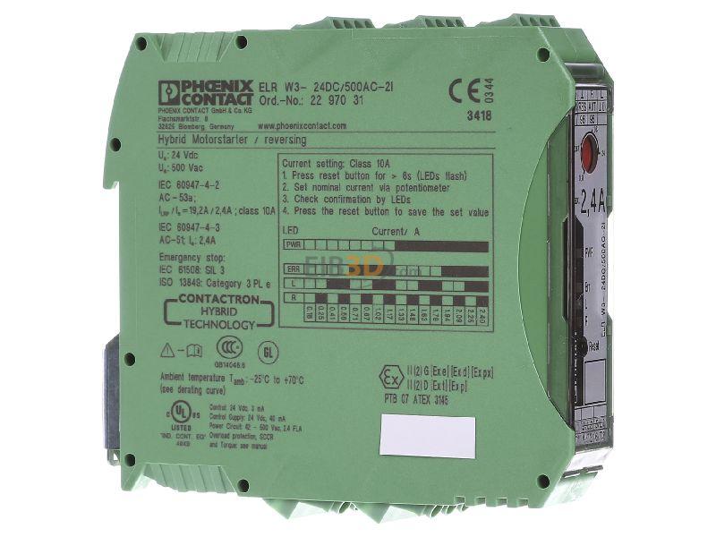 Phoenix Contact ELR W3-24DC//500AC-21