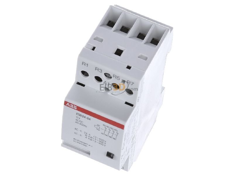Installation contactor 12VAC/DC ESB24-04-12AC/DC
