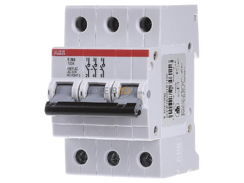 Off switch for distributor 3 NO 0 NC E203/100G