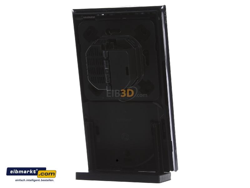 eib knx raumbediengert g1 glas schwarz. Black Bedroom Furniture Sets. Home Design Ideas