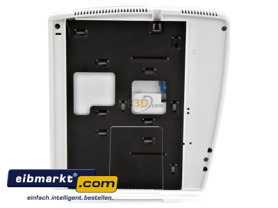 Back view Video house station colour monitor white 344824 Legrand (SEKO) 344824