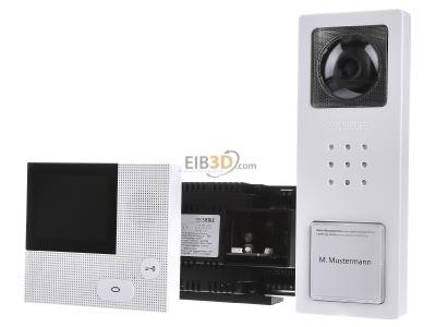 video set siedle basic signalwei set cvb 850 1. Black Bedroom Furniture Sets. Home Design Ideas