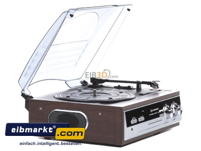 View on the left Wörlein GmbH PL186H Standard record player
